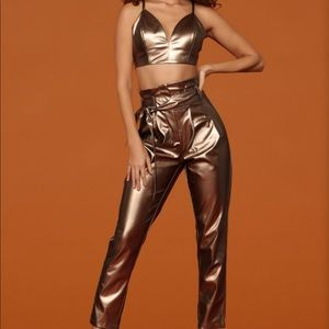 Fashion Nova Cardi B Two Piece Outfit